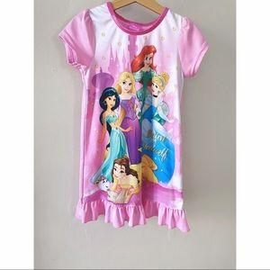 Disney Princess Dress Nightgown Pink size 5/6